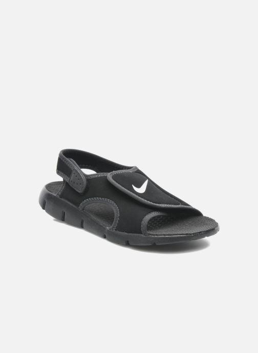 Sandales et nu-pieds Nike SUNRAY ADJUST 4 (GSPS) Noir vue détail/paire