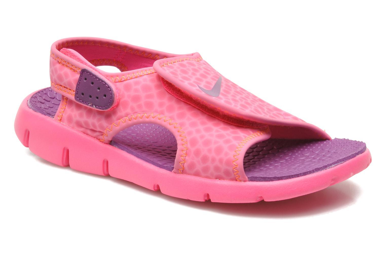 Sandalen Nike SUNRAY ADJUST 4 (GSPS) rosa detaillierte ansicht/modell