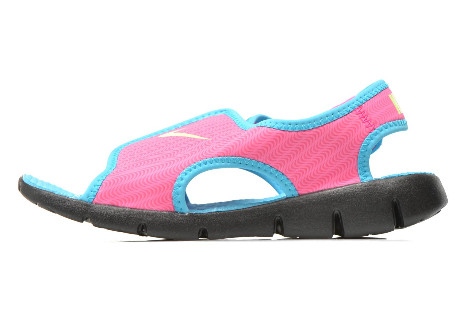 Sandals Nike SUNRAY ADJUST 4 (GSPS) Pink front view