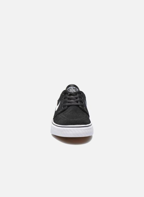 Sneaker Nike Stefan Janoski (GS) schwarz schuhe getragen