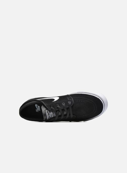 Baskets Nike Stefan Janoski (GS) Noir vue gauche