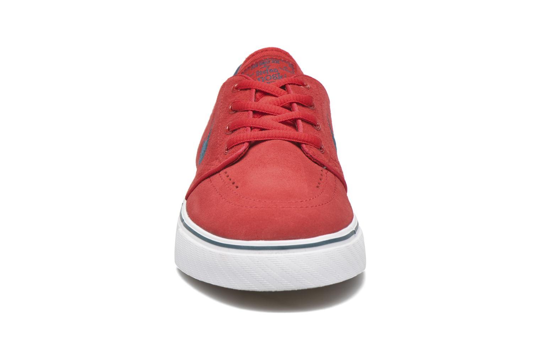 Baskets Nike Stefan Janoski (GS) Rouge vue portées chaussures