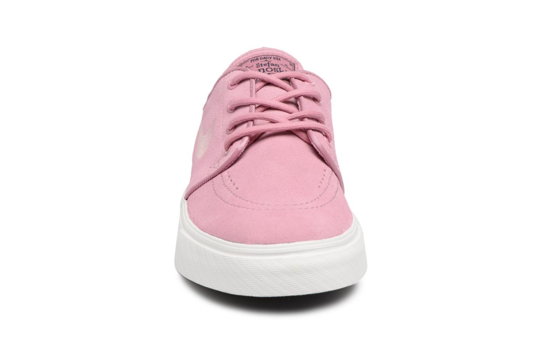 Baskets Nike Stefan Janoski (GS) Rose vue portées chaussures