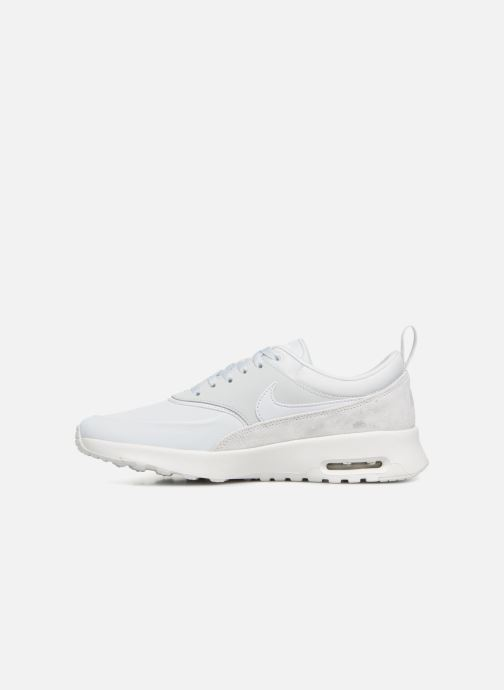 Sneakers Nike Wmns Nike Air Max Thea Prm Wit voorkant