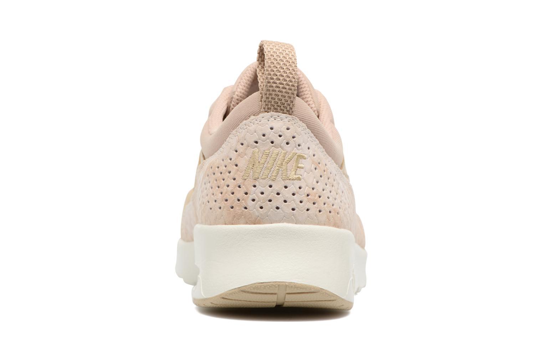 Baskets Nike Wmns Nike Air Max Thea Prm Beige vue droite