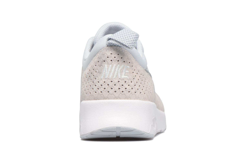 Baskets Nike Wmns Nike Air Max Thea Prm Blanc vue droite