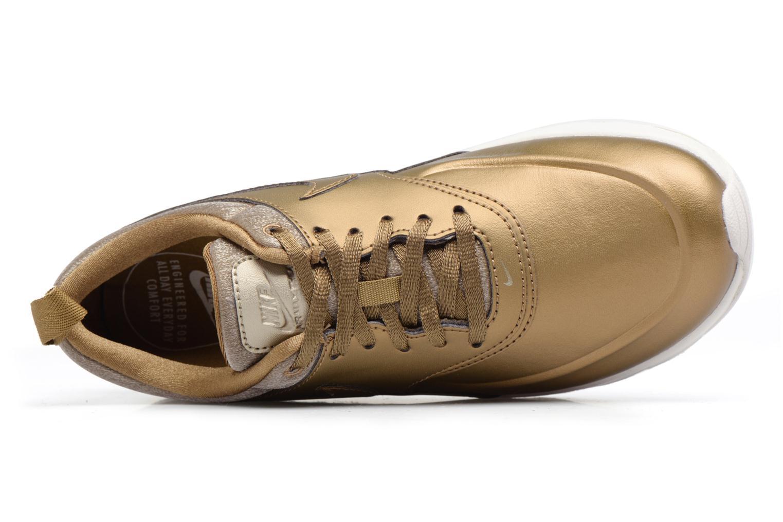 Baskets Nike Wmns Nike Air Max Thea Prm Or et bronze vue gauche