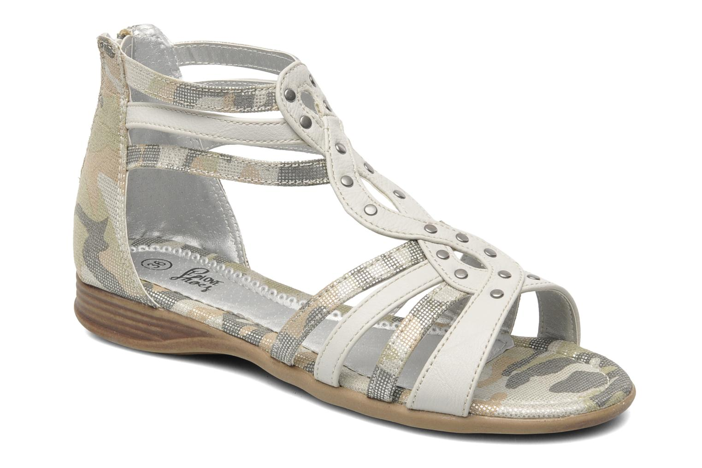 Sandales et nu-pieds I Love Shoes Adula Gris vue détail/paire