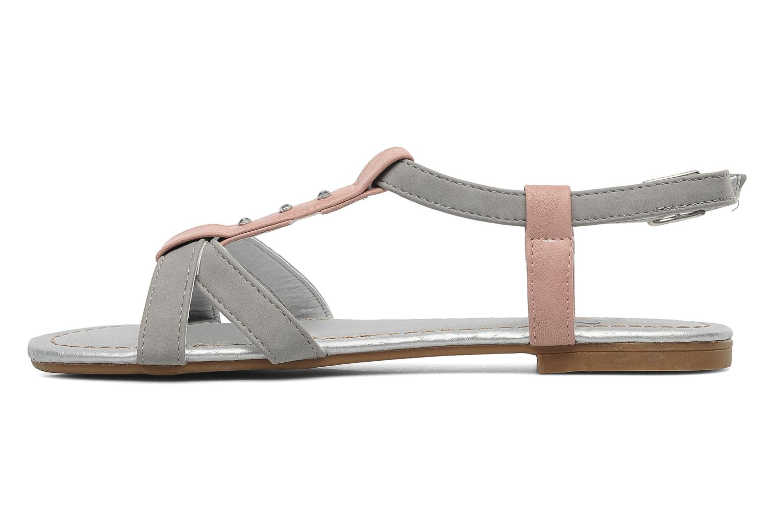 Sandals I Love Shoes Itao Grey front view