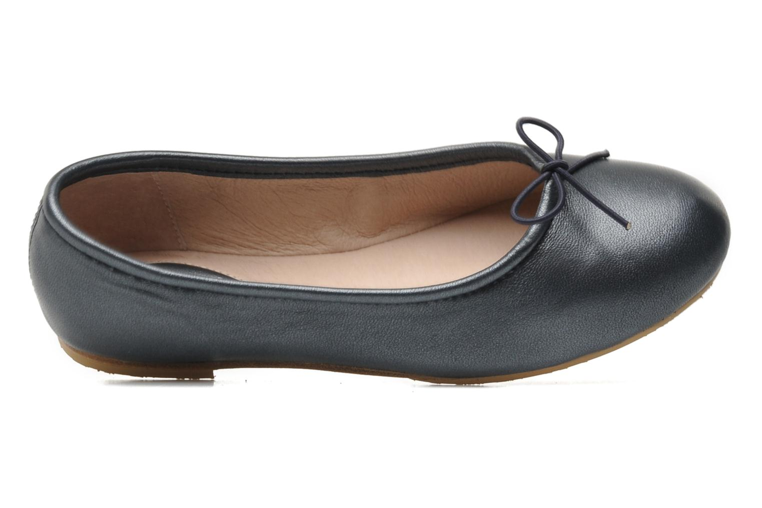 Ballet pumps Bloch Girls Arabella Grey view from the left