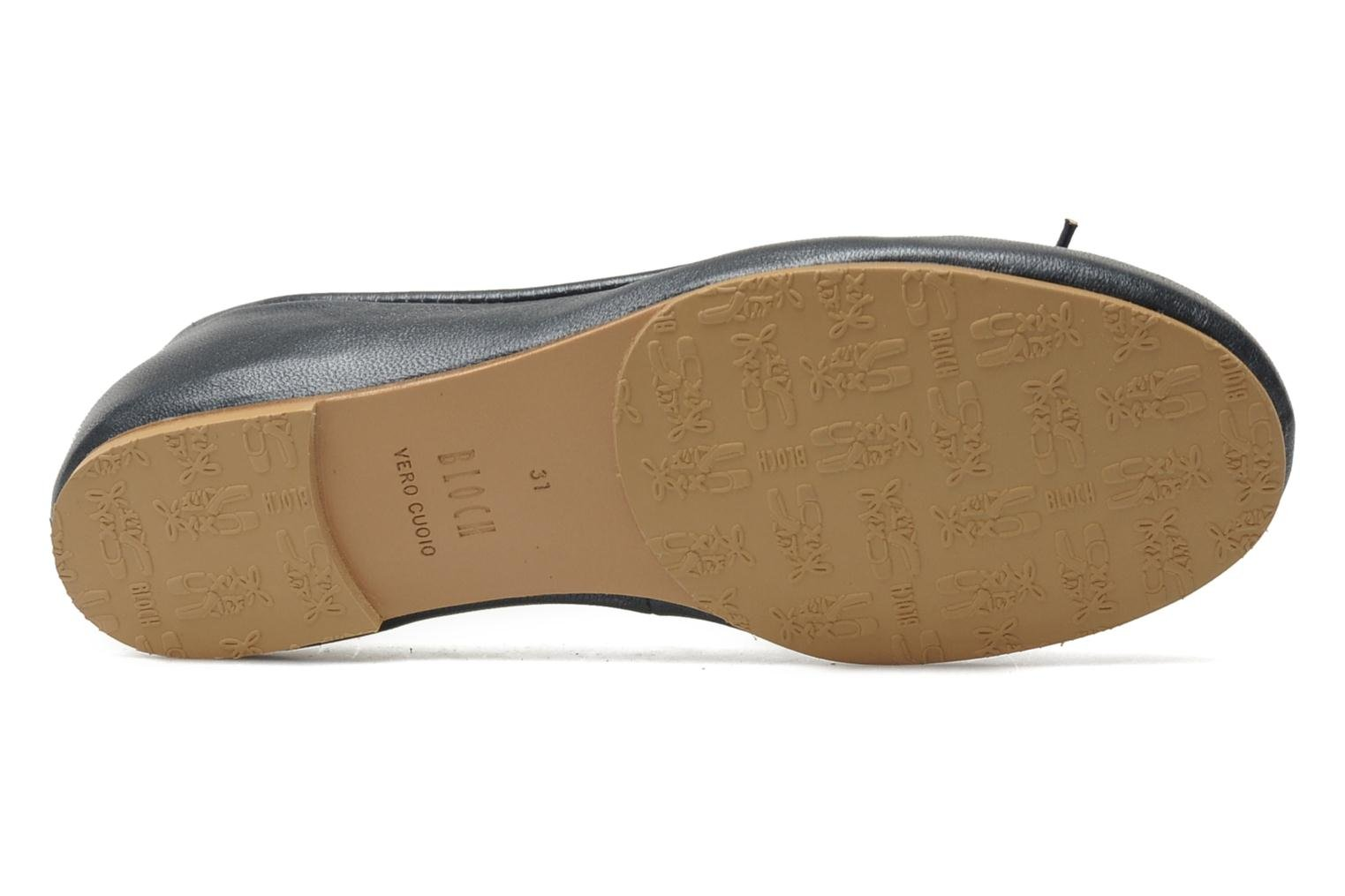 Ballet pumps Bloch Girls Arabella Grey view from above