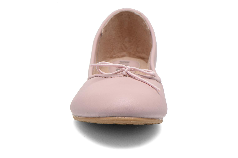 Ballerines Bloch Girls Arabella Rose vue portées chaussures
