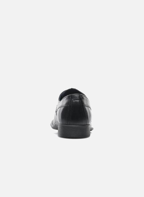 Zapatos con cordones Fluchos Alonso 8596 Negro vista lateral derecha