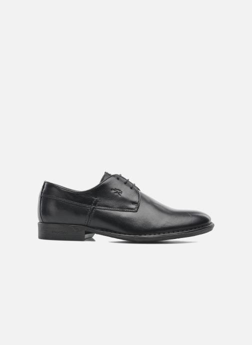 Zapatos con cordones Fluchos Alonso 8596 Negro vistra trasera