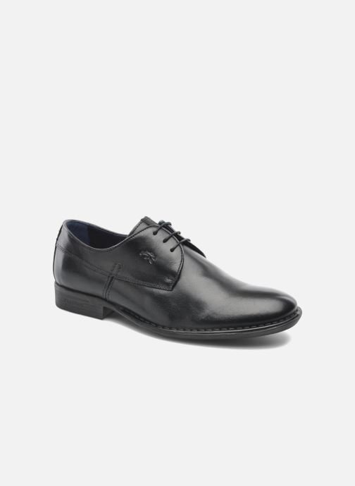 Zapatos con cordones Fluchos Alonso 8596 Negro vista de detalle / par