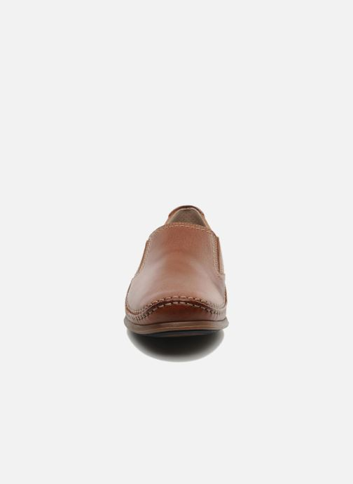 Mocassins Fluchos Catamaran 8565 Marron vue portées chaussures