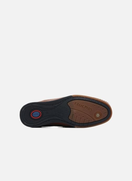 Loafers Fluchos Catamaran 8565 Brown view from above