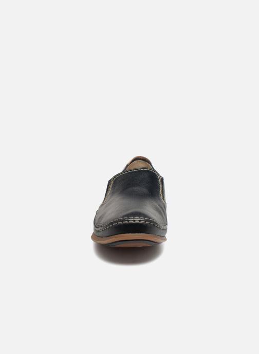Mocassins Fluchos Catamaran 8565 Bleu vue portées chaussures
