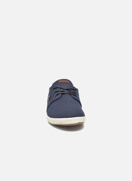 Sneakers Faguo Cypress Cotton Leather Azzurro modello indossato