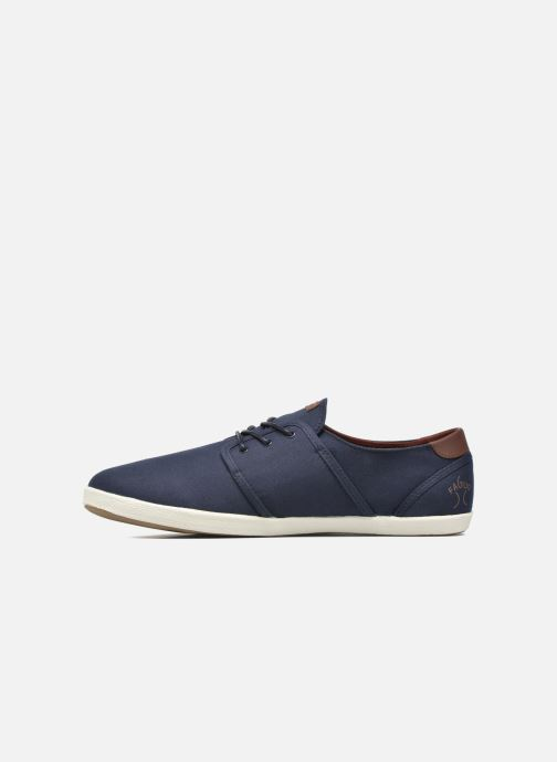 Sneakers Faguo Cypress Cotton Leather Azzurro immagine frontale