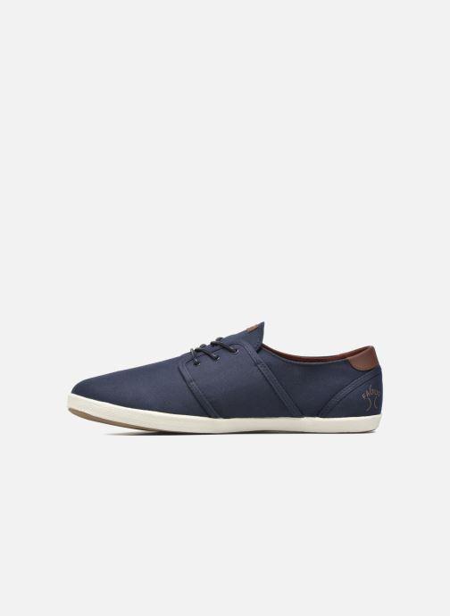 Sneakers Faguo Cypress Cotton Leather Azzurro immagine frontale