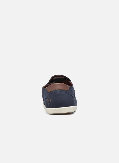 Sneakers Faguo Cypress Cotton Leather Azzurro immagine destra