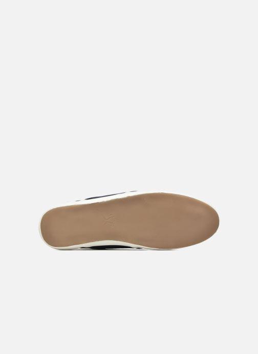Sneakers Faguo Cypress Cotton Leather Azzurro immagine dall'alto
