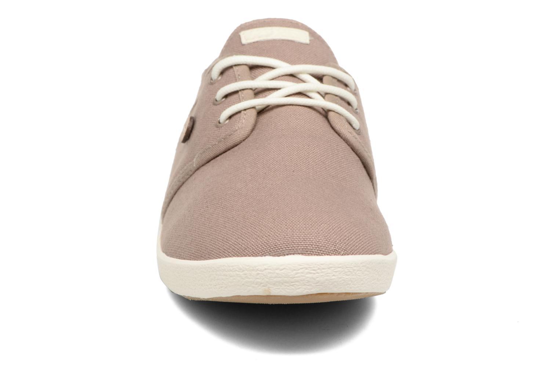 Baskets Faguo Cypress Marron vue portées chaussures