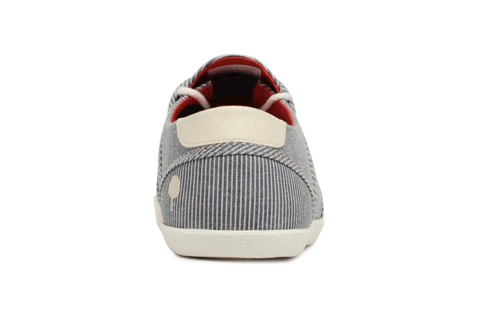 Trainers Faguo Cypress Blue view from the right