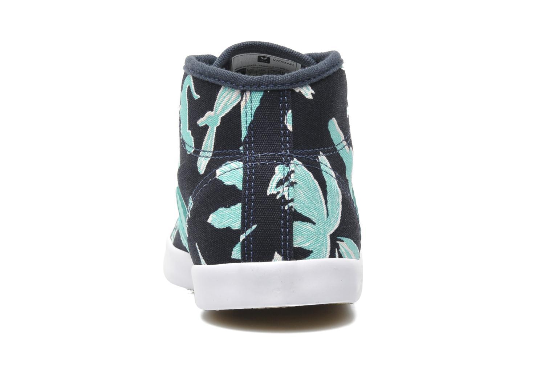 Sneaker Veja Taua Mid blau ansicht von rechts