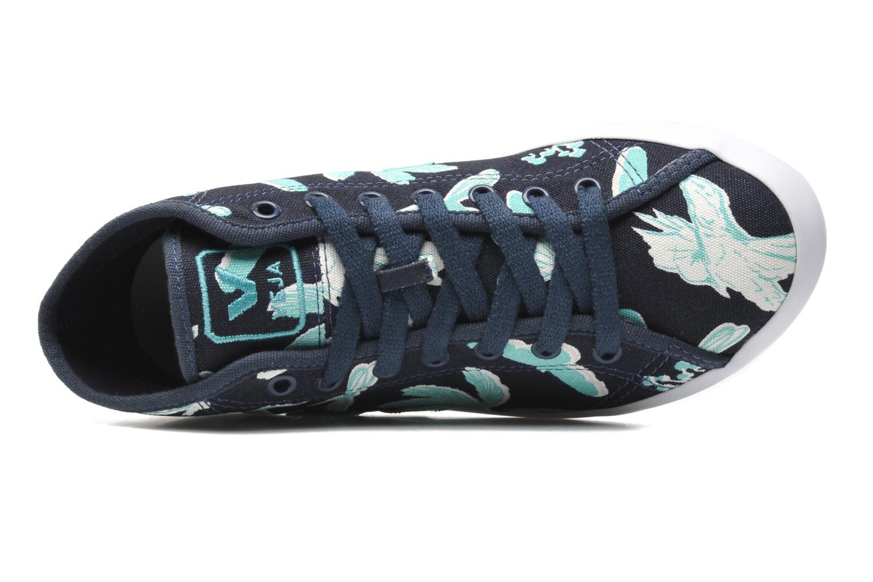 Sneaker Veja Taua Mid blau ansicht von links