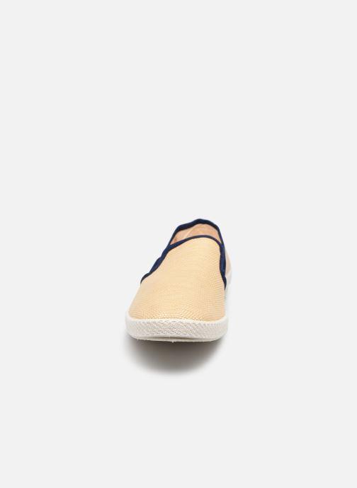 Scarpe di corda Rivieras Montecristi Beige modello indossato
