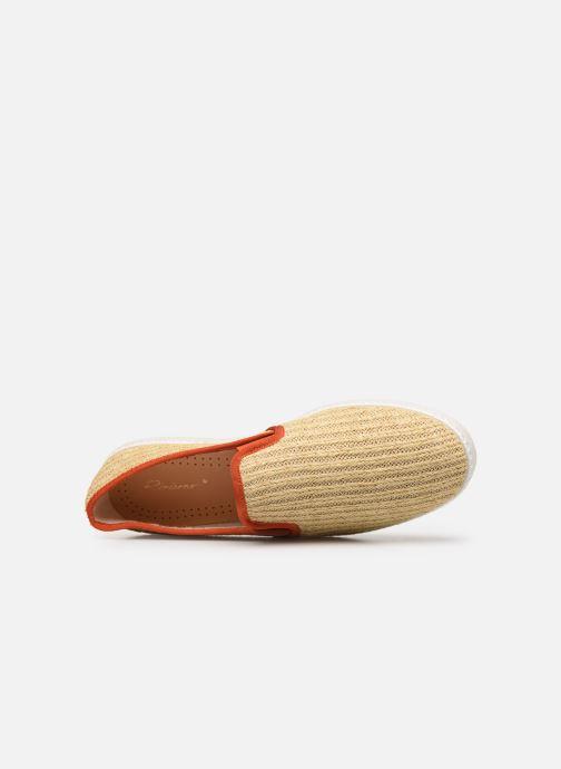 Scarpe di corda Rivieras Montecristi Beige immagine sinistra