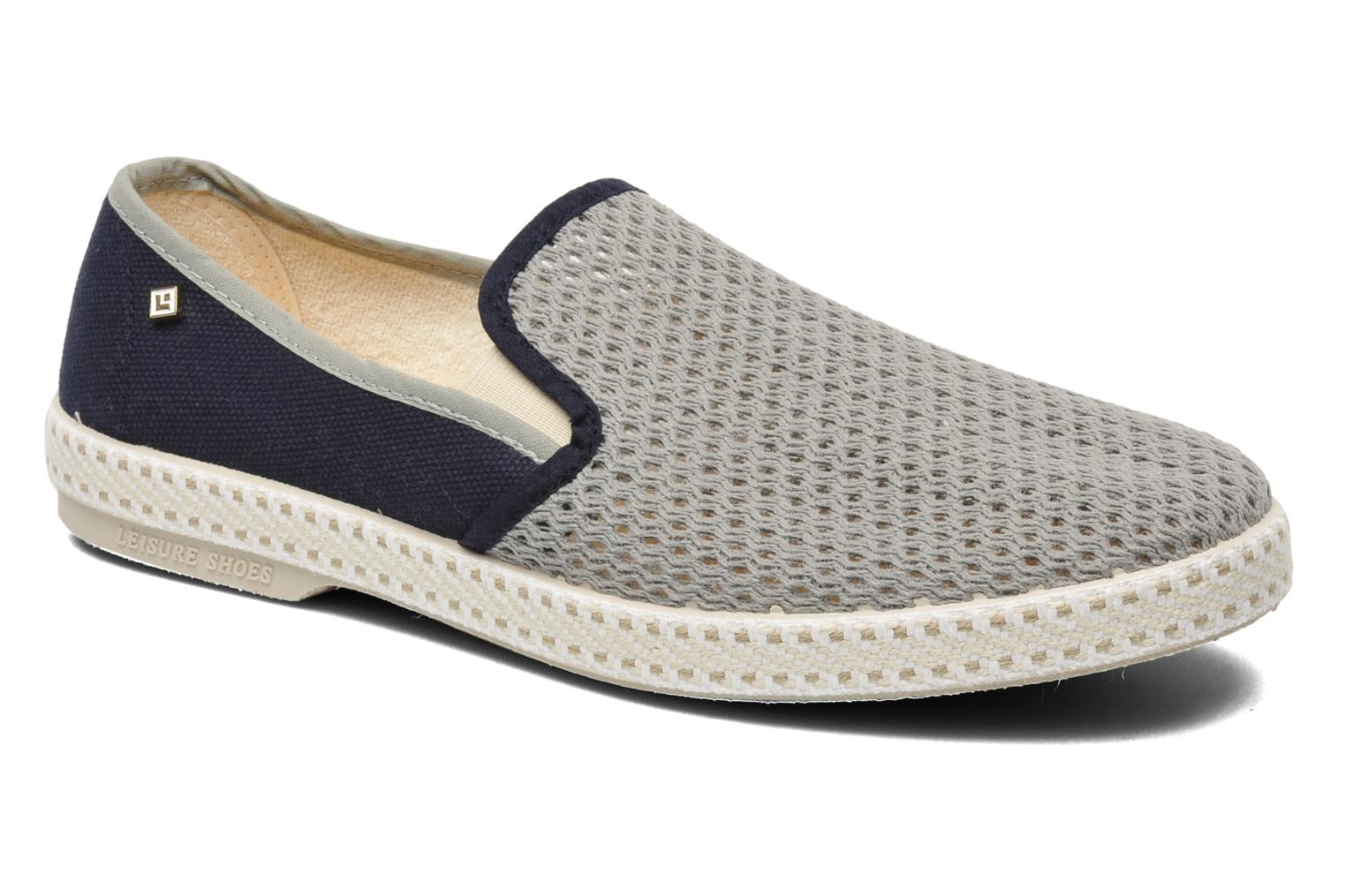 Espadrilles Rivieras Maltese Falcon Blue detailed view/ Pair view