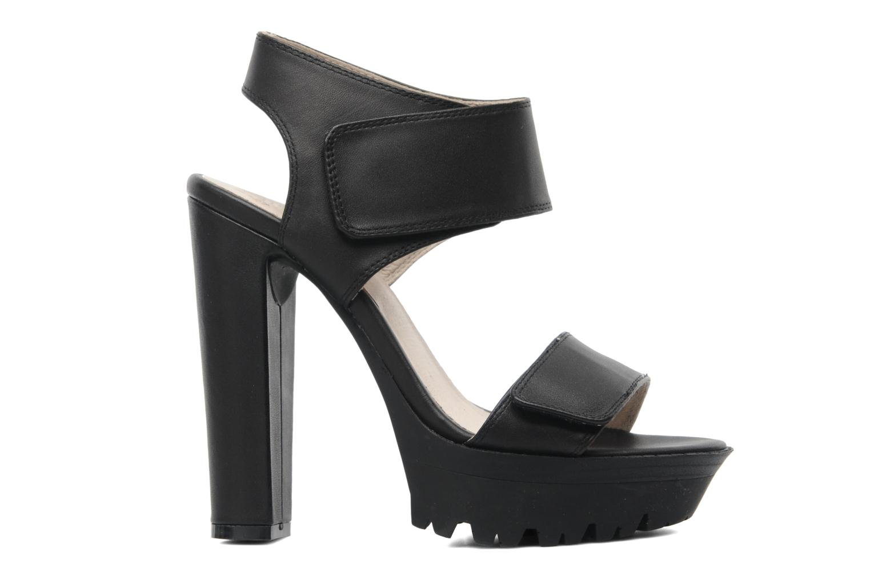 Sandales et nu-pieds Bronx Jen Noir vue derrière