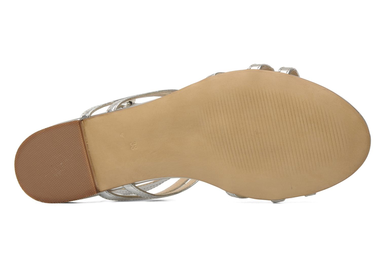 Sandales et nu-pieds Bruno Premi Speza Argent vue haut