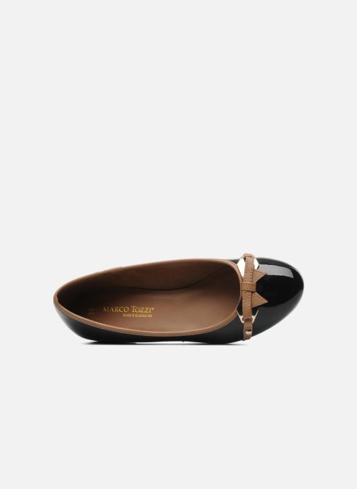 Ballet pumps Marco Tozzi Macha Black view from the left