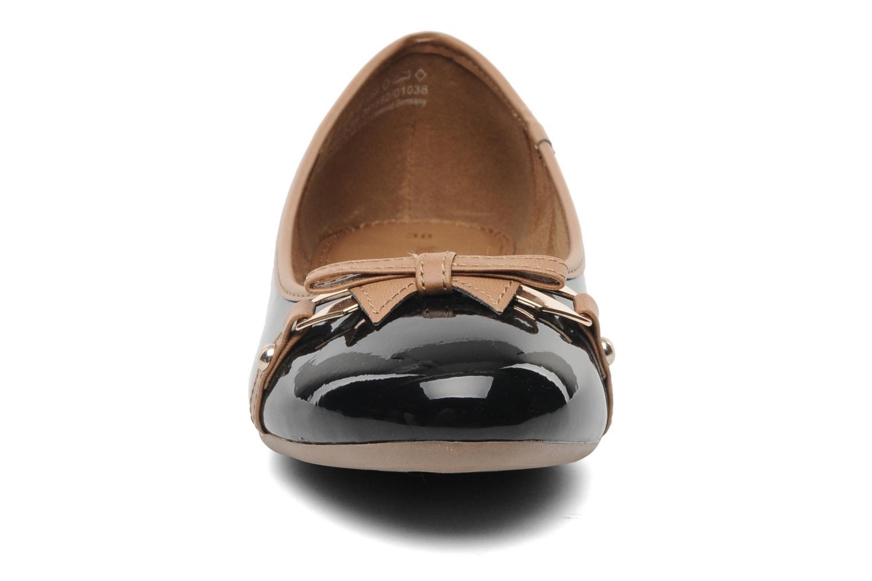 Ballerina Marco Tozzi Macha Svart bild av skorna på