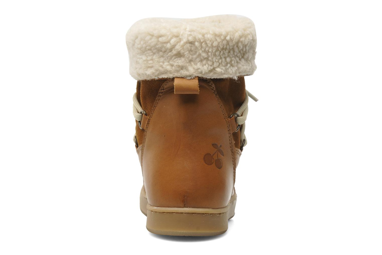 Bottines et boots Le temps des cerises Mountain Marron vue droite