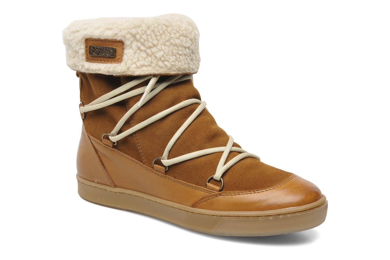 Bottines et boots Le temps des cerises Mountain Marron vue détail/paire