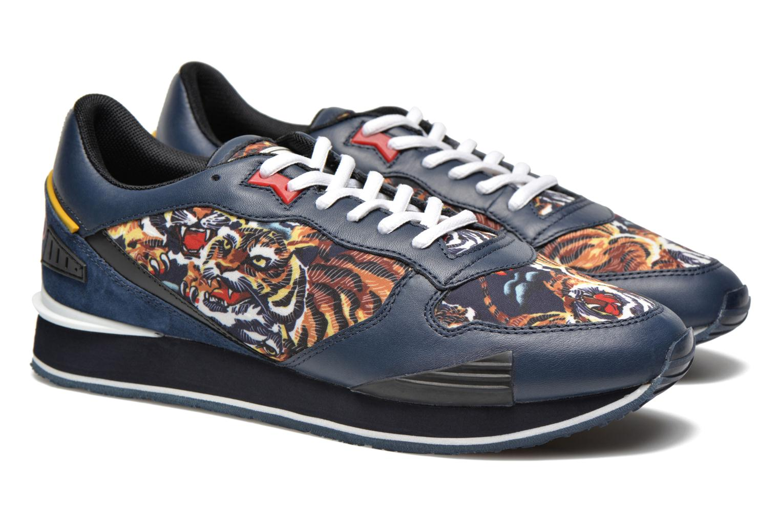 Baskets Kenzo Running Multicolore vue 3/4