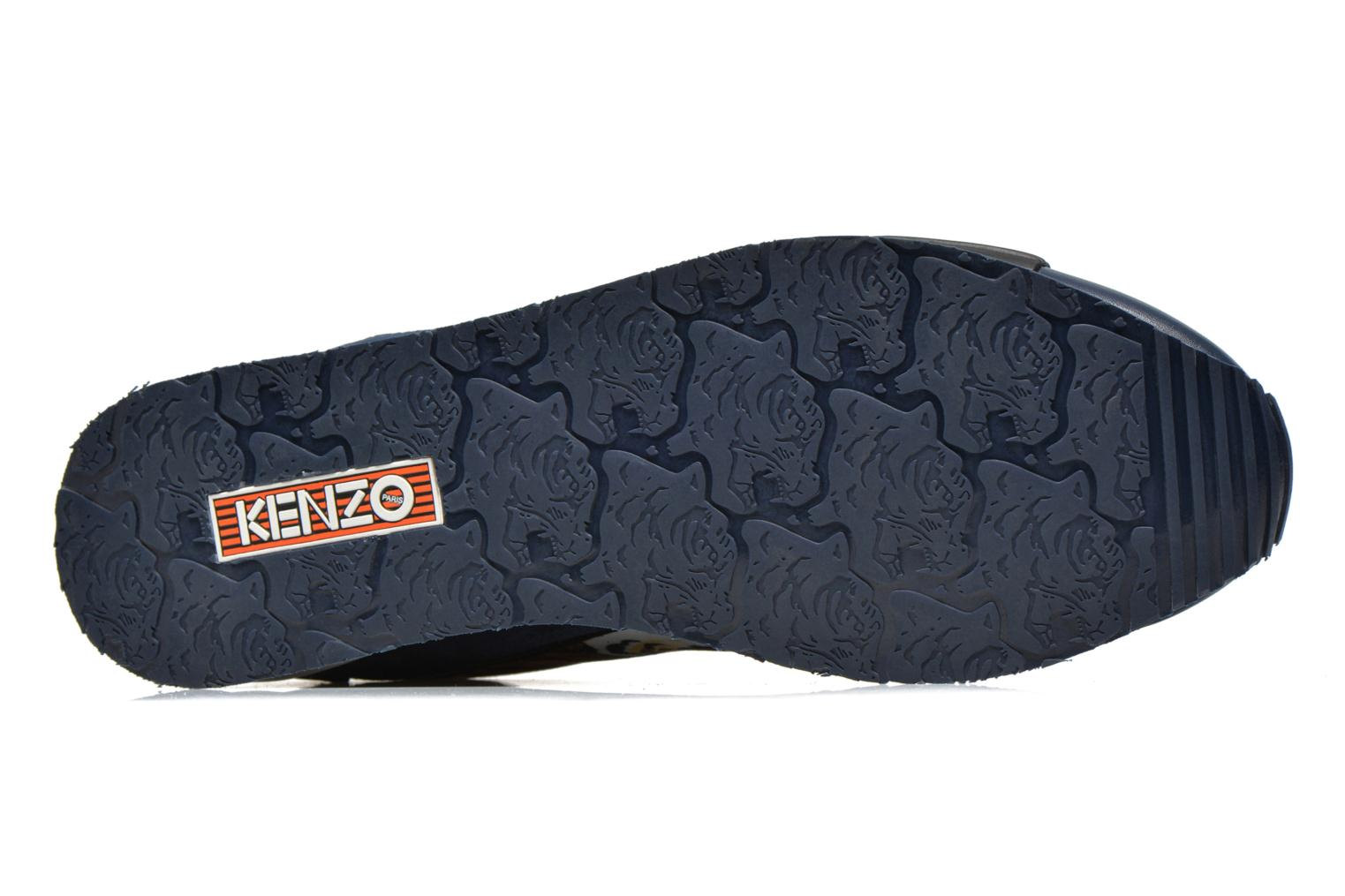 Baskets Kenzo Running Multicolore vue haut