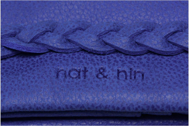 Petite Maroquinerie Nat & Nin Lilou Bleu vue gauche