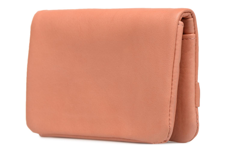 Portemonnaies & Clutches Nat & Nin Lilou rosa ansicht von rechts