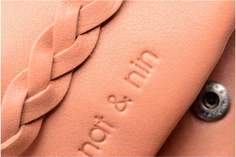 Portemonnaies & Clutches Nat & Nin Lilou rosa ansicht von links