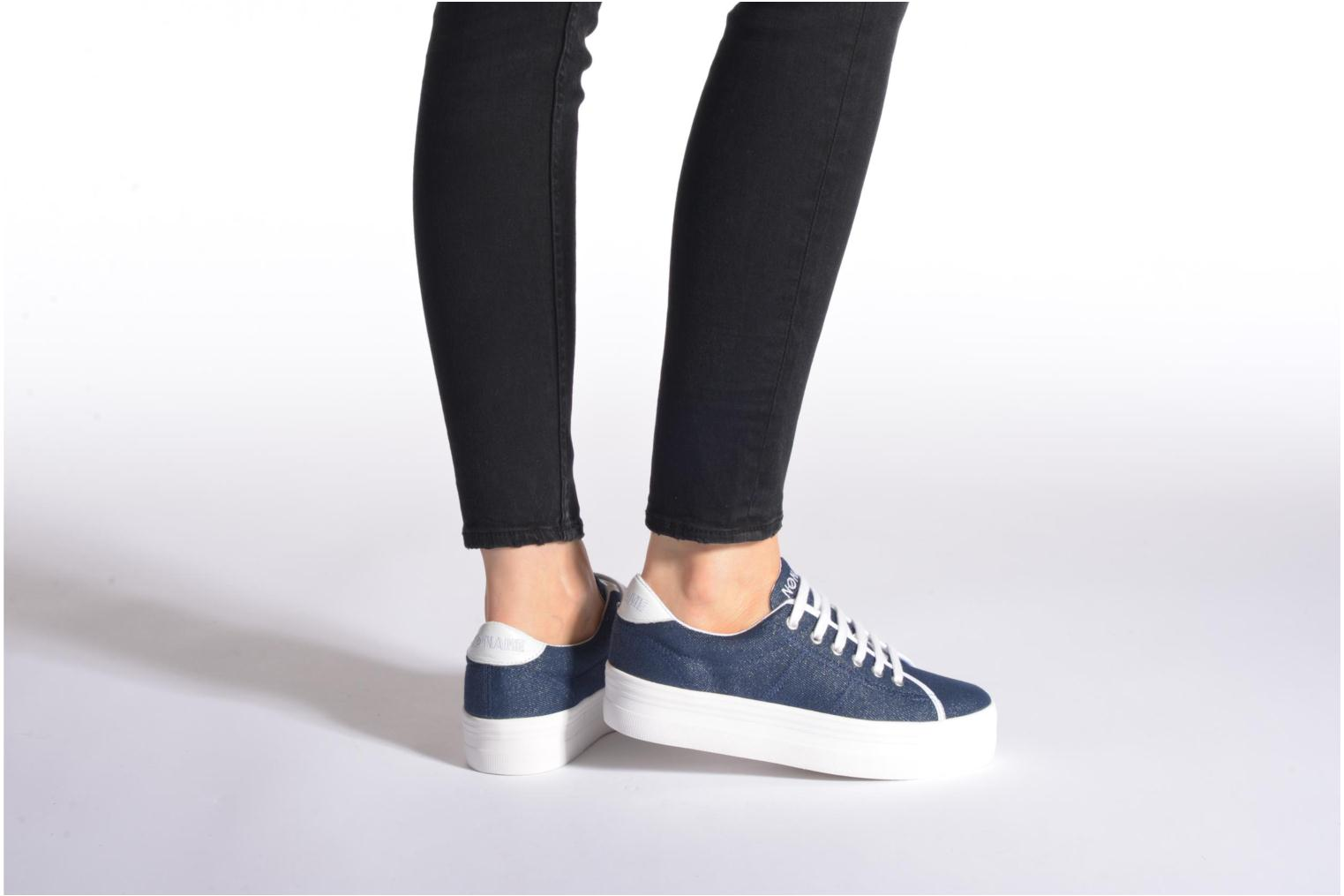 Sneakers No Name Plato Sneaker Strass Blauw onder