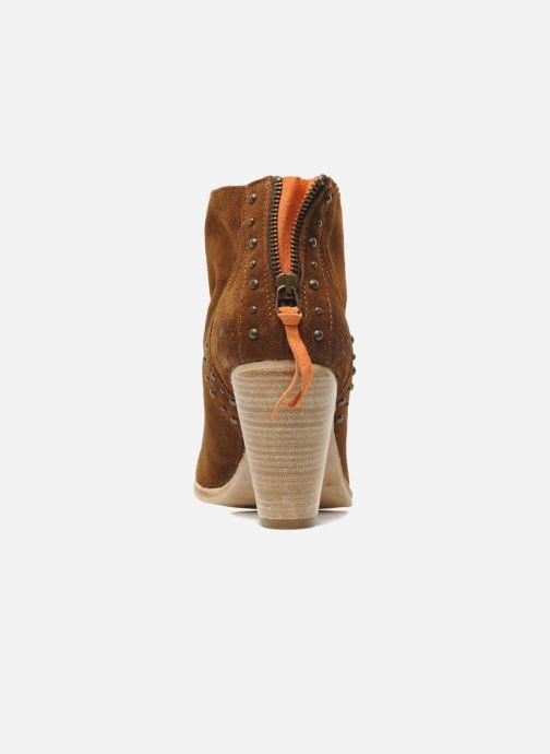 Bottines et boots Koah Larissa Marron vue droite