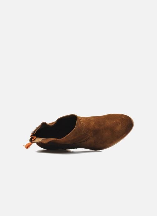 Bottines et boots Koah Larissa Marron vue gauche