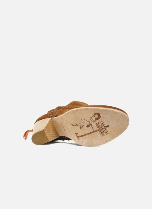 Bottines et boots Koah Larissa Marron vue haut