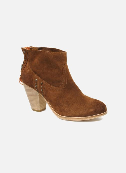 Bottines et boots Koah Larissa Marron vue détail/paire